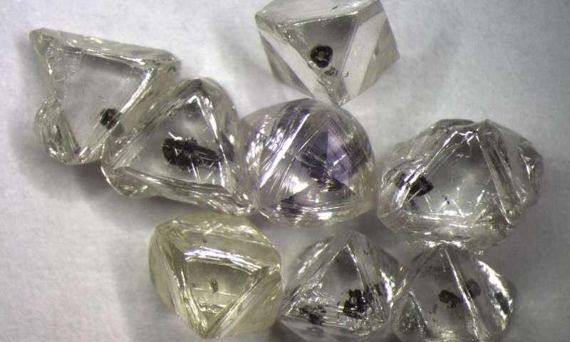 Gyémántok zárványai különleges információval szolgálhatnak