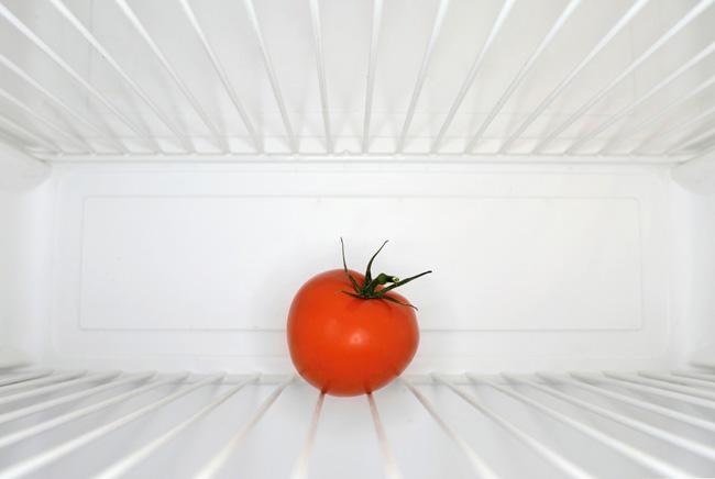 Ízetlen tréfa a hűtőszekrényből