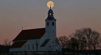 2017. április asztrofotója: Székely holdkelte