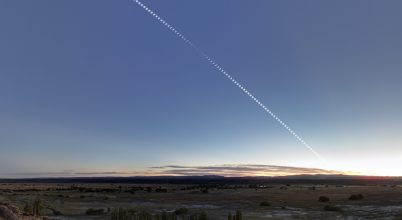 A nap képe: Napfogyatkozás Argentínában