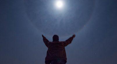 A nap képe: Telihold és a körülötte formálódó gyűrű