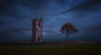 A nap képe: Az írországi Hill of Slane