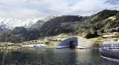 A világ első tengeri hajóalagútja épülhet Norvégiában