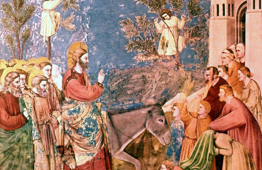 Jézus Jeruzsálembe vonulásának ünnepe – virágvasárnap