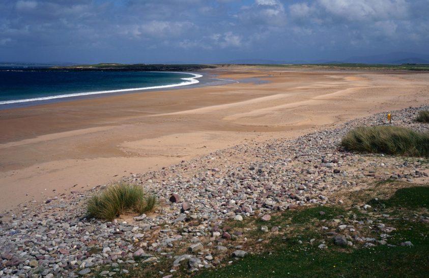 Írország szigete visszakapott egy partszakaszt az óceántól