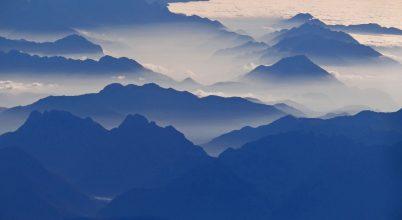 A nap képe: Repülni az Alpok fölött