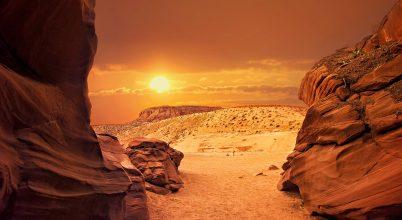 A nap képe: Végtelen naplemente
