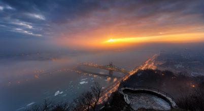 A nap képe: Egy különleges hajnal Budapesten