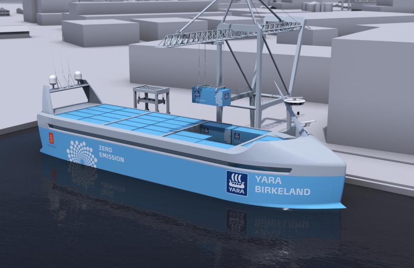 A jövő hajója környezetkímélő és önjáró