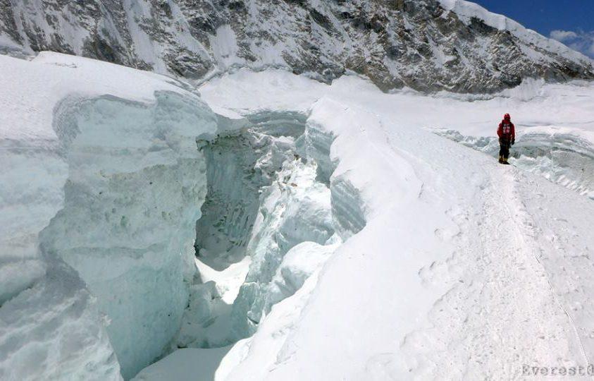 Everest-expedíció 2017 – Klein Dávid egyedül folytatja