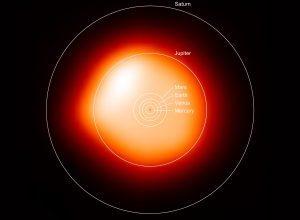 Sosem készült ilyen részletes felvétel egy idegen csillagról