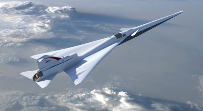 Egy lépéssel közelebb a NASA egy halk szuperszonikus gép létrehozásához