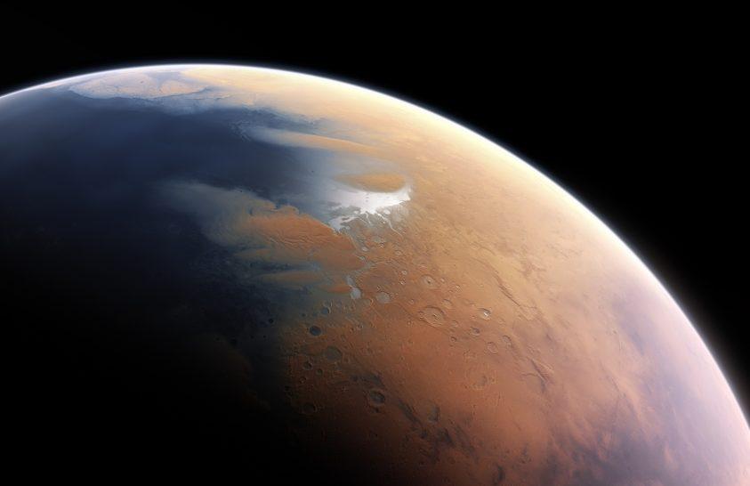 Elképesztő víztömeg lehetett az ősi Marson