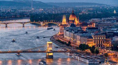 A nap képe: Budapesti naplemente