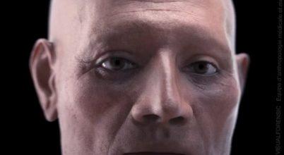 Így néz ki egy több ezer éve halott egyiptomi férfi arca
