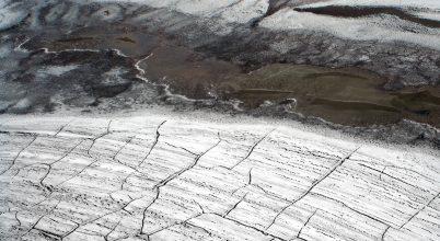 Üvegházhatású gázok szabadulhatnak fel a sarkvidék olvadásával