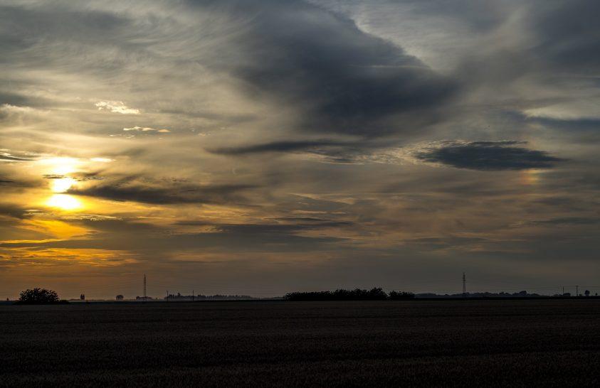 A nap képe: Fénytünemény Debrecen határában