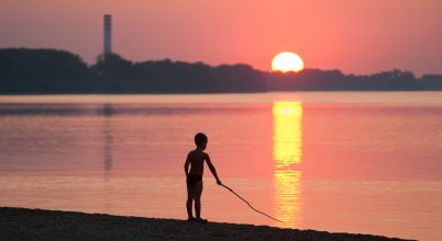 A nap képe: Aranyhíd ível át a Dunán