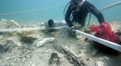 3500 éves leletek kerültek elő a tengerből, Horvátország partjainál