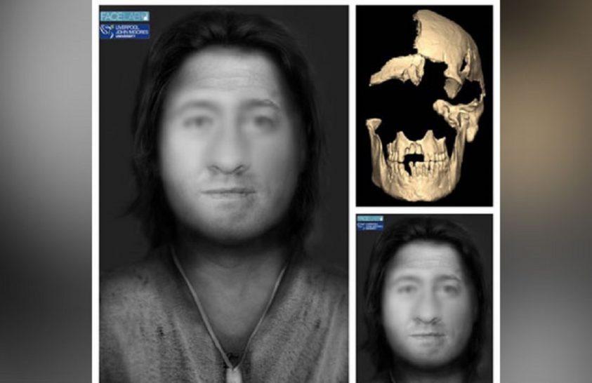 Nézzék meg egy 4000 éve élt férfi arcát!