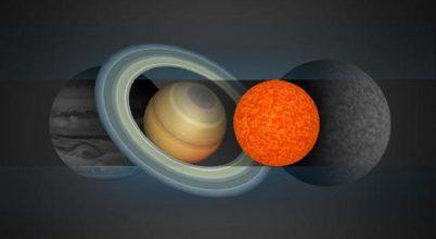 A Szaturnusznál alig nagyobb csillagot találtak