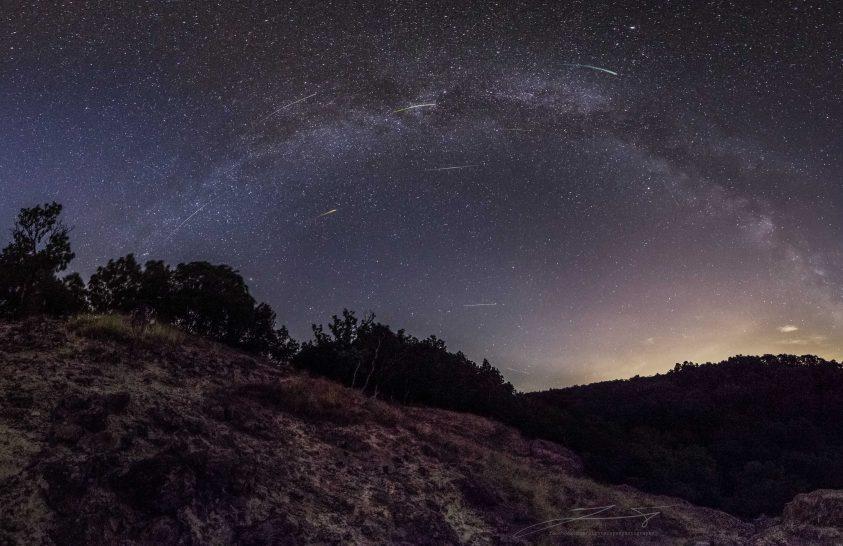 2017. augusztus asztrofotója: Meteoreső