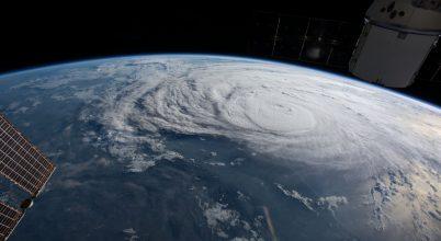 A Nemzetközi Űrállomásról örökítették meg a félelmetes Harvey hurrikánt