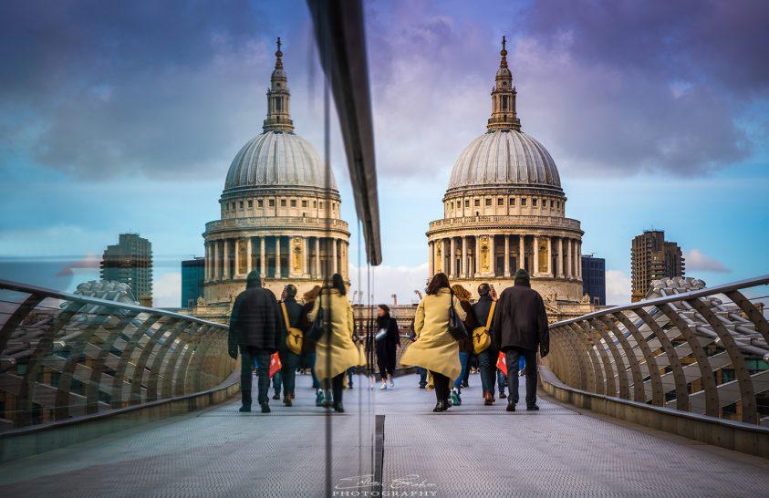 A nap képe: A londoni Szent Pál-székesegyház kétszer