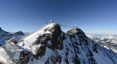 Vészesen olvad a jég az Alpokban