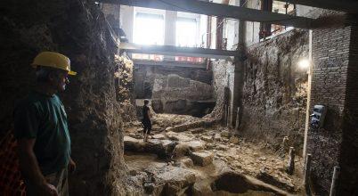 Újabb ókori kincsbe botlottak a közműépítők Rómában