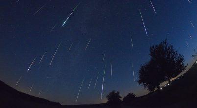 Égi jelenségek hullócsillagokkal, 2017. augusztus első felében