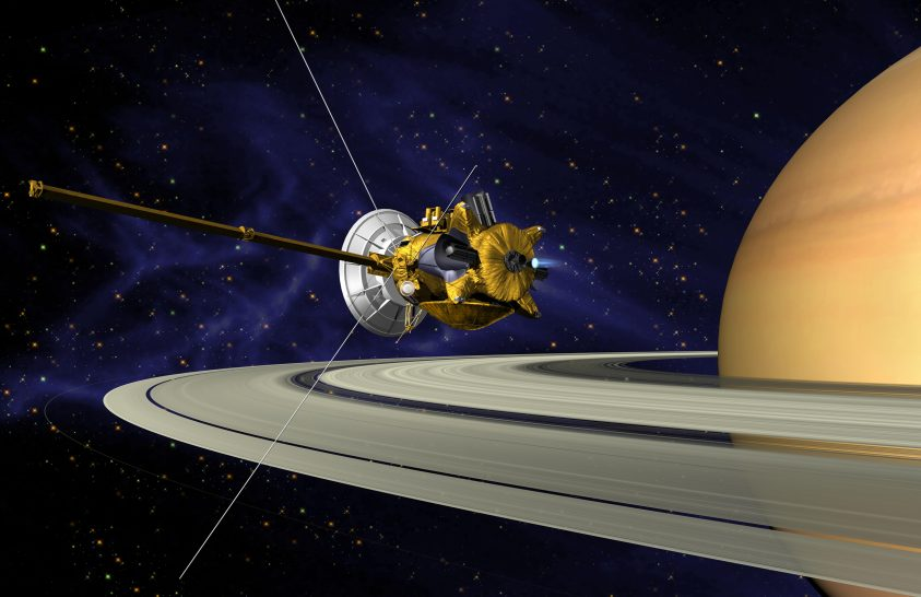 Keserédes pillanat: eljött a vég a Cassini számára