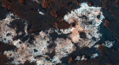 A Mars egyik legizgalmasabb területéről készült felvétel