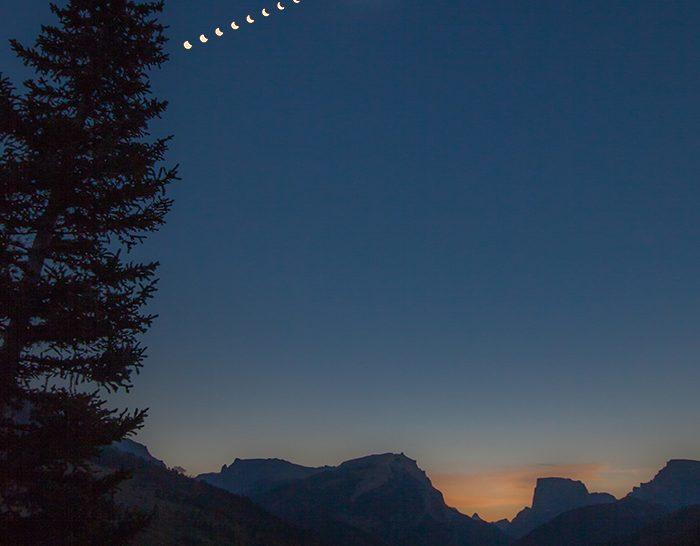 A nap képe: Napfogyatkozás Wyomingben