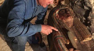 Leletekben gazdag nyughelyre bukkantak Egyiptomban