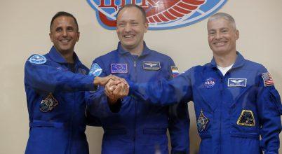 A Szputnyik hoz szerencsét az ISS új űrhajósainak