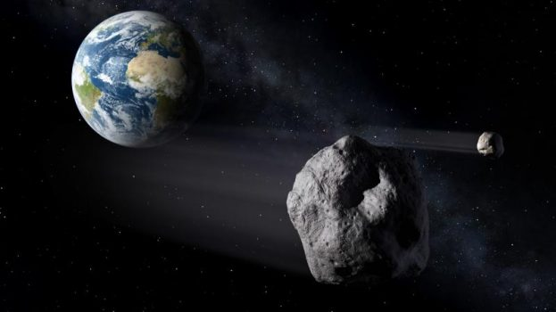 Nem egyedül érkezett a méretes aszteroida