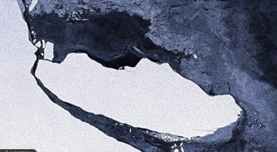 Újabb hatalmas jégtömb vált le az Antarktiszról