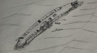 A legénység földi maradványai is az elsüllyedt tengeralattjáróban voltak