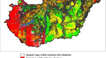 Új térképek segítik a hatékonyabb természetvédelmet