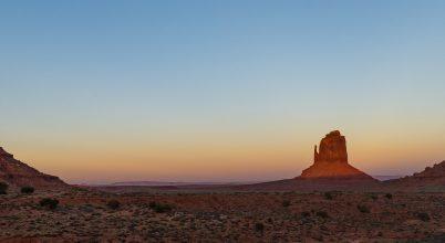 A nap képe: Monument Valley naplemente