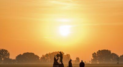 A nap képe: Felkészülés a hőlégballonos repülésre
