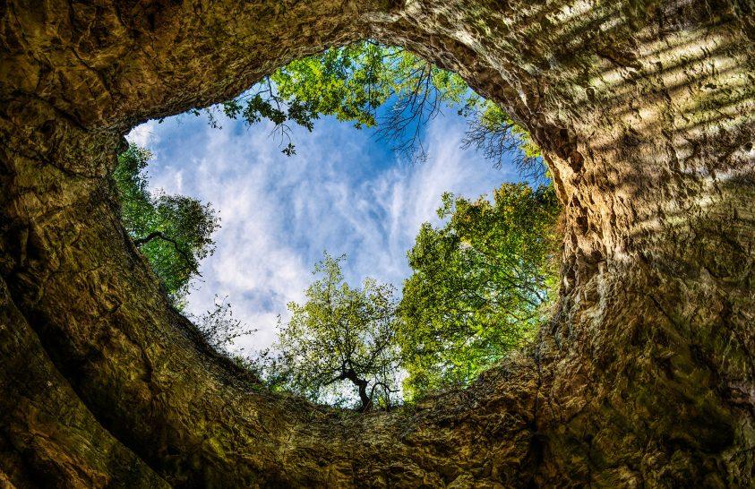 A nap képe: A Szelim-barlang egyik kürtője
