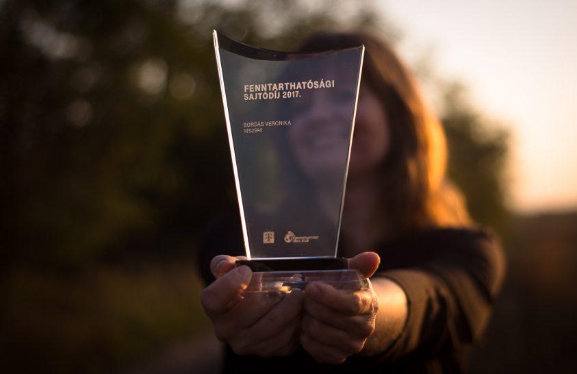 Fenntarthatósági Sajtódíjat nyert a National Geographic szerkesztője