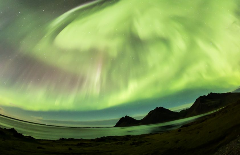 2017. október asztrofotója: A zöldbe borult horizont