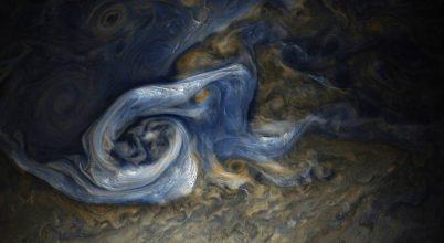 Hatalmas vihart örökítettek meg a Jupiteren