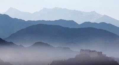 A nap képe: Tibet egyik híres kolostora