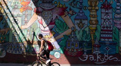 A nap képe: A biciklis