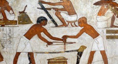 Fáraókori ácsműhelyt találtak Egyiptomban