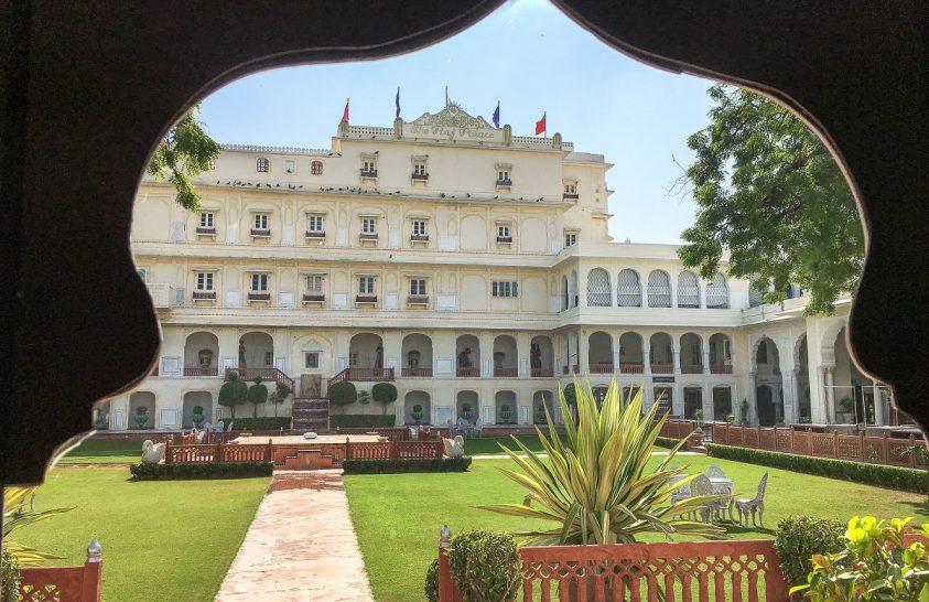 Vendég voltam a maharadzsa palotájában